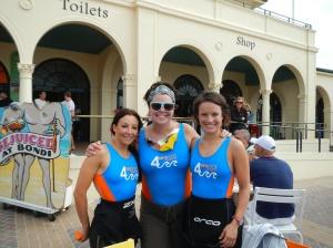 4 SEASons swimmers