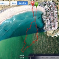 1km course at the Roughwater