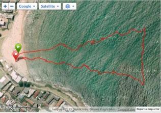 1km course