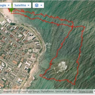 2.3km course